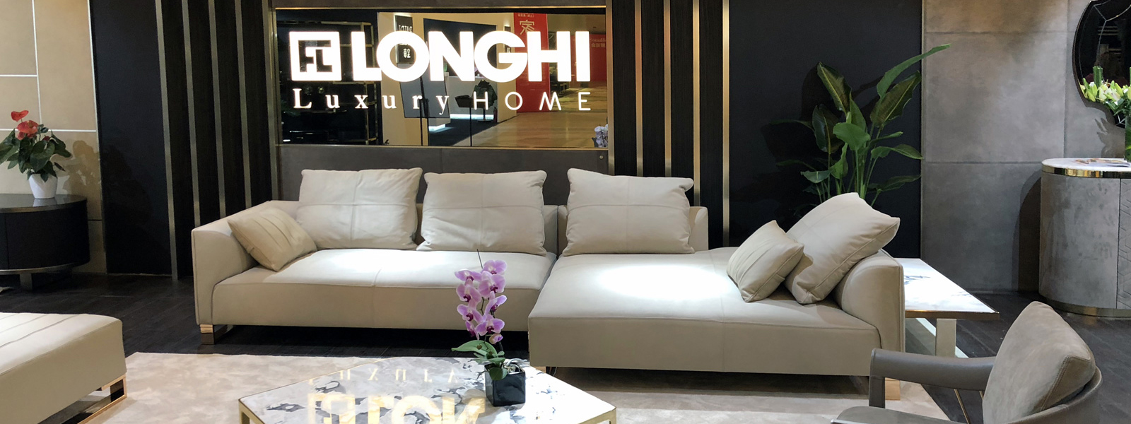 Longhi was presented ILLUSION collection 2018 at the Salone del Mobile.Milano Shanghai  on November 22nd – 24th, 2018.